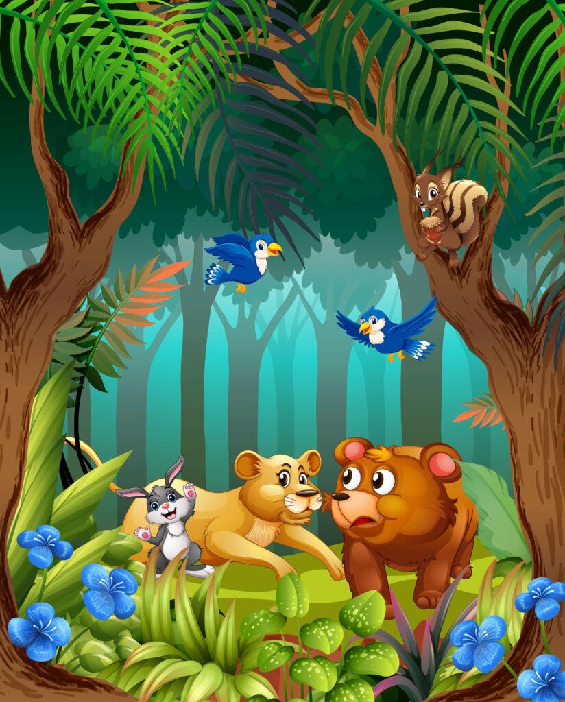 Kindergeschichten für kleine und große Kinder. Nicht nur Löwen sind schön